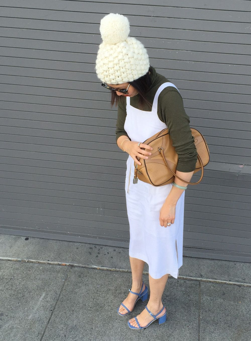 White apron meaning - Nessa Vendetta Knits Pom Beanie Objects Without Meaning Turtleneck Diarte Apron Dress Rafa