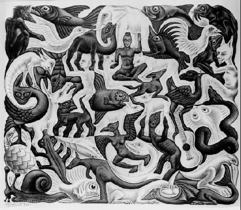 Galeria De Escher Escher Art Mc Escher Art