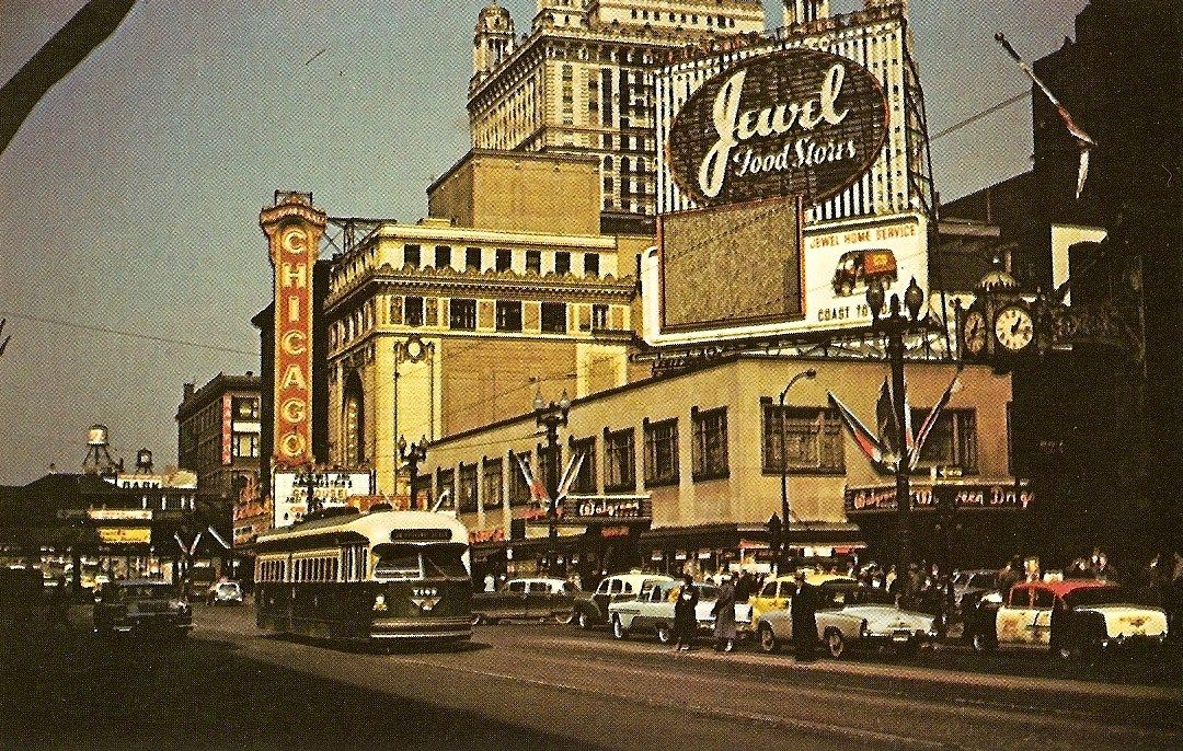 1956. State and Randolph.