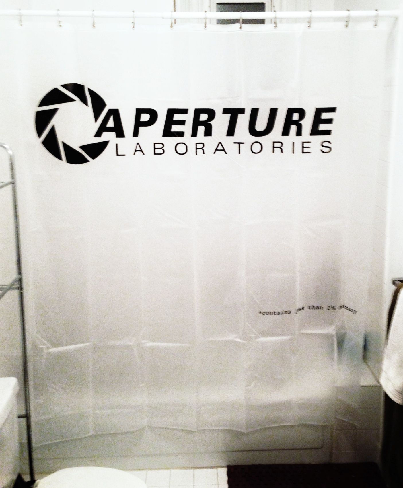 It S Hard To Overstate My Satisfaction Portal Shower Curtain