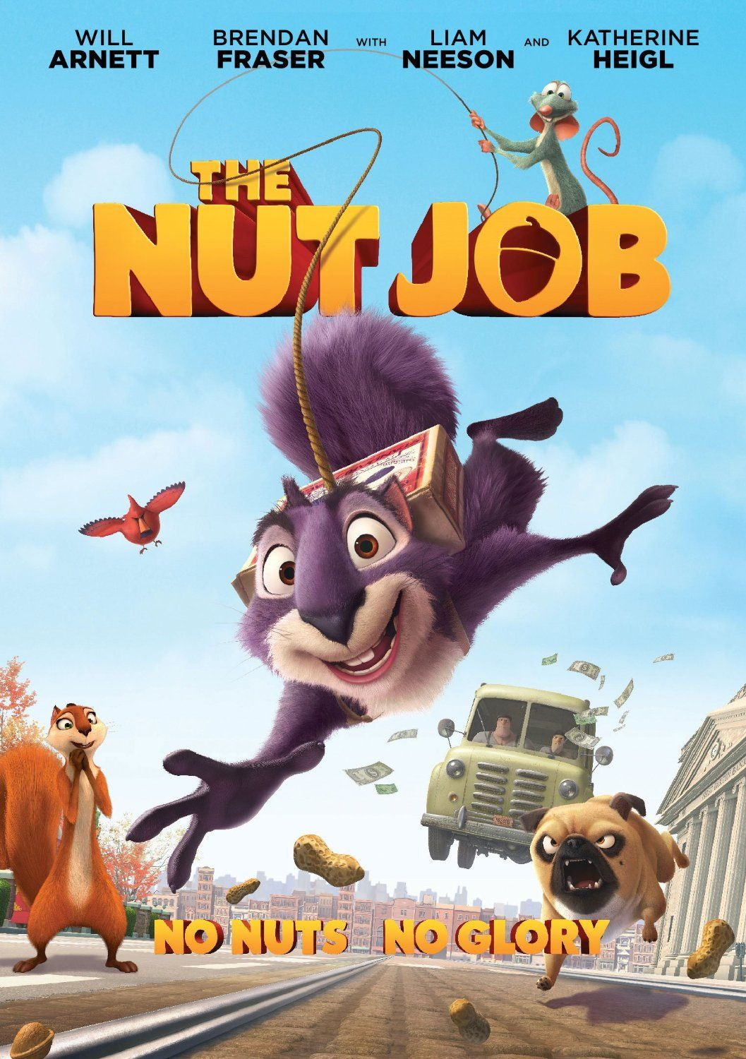 The nut job An incorrigibly selfserving exiled squirrel