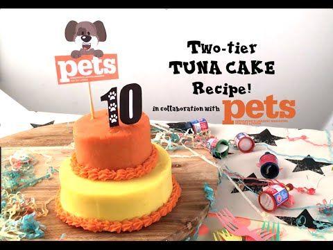 DIY FeedMyPaws Recipe Tuna Birthday Cake Feed My Paws