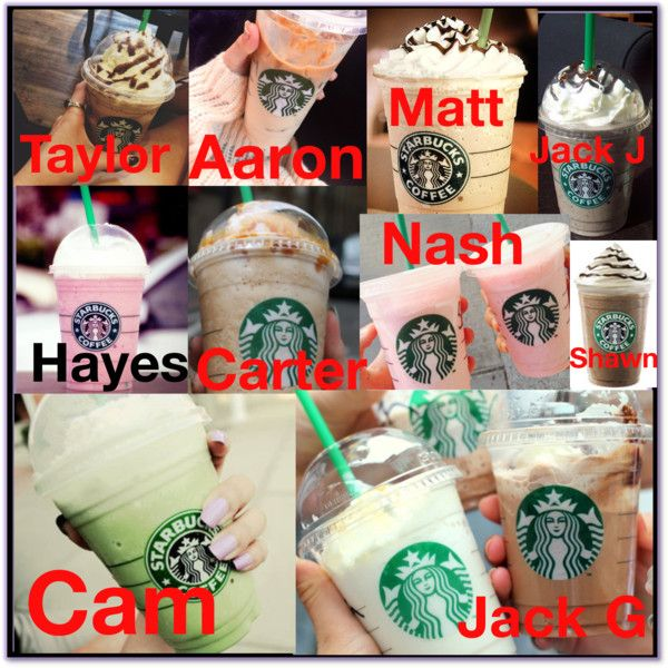 Magcon Preference: Starbucks You Get❤️ by loves5sos on Polyvore featuring polyvore and art