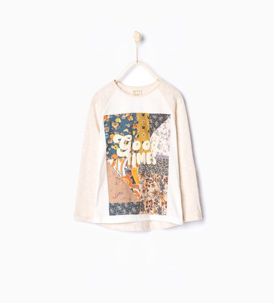 ZARA - COLLECTION AW15 - Good Times T-shirt