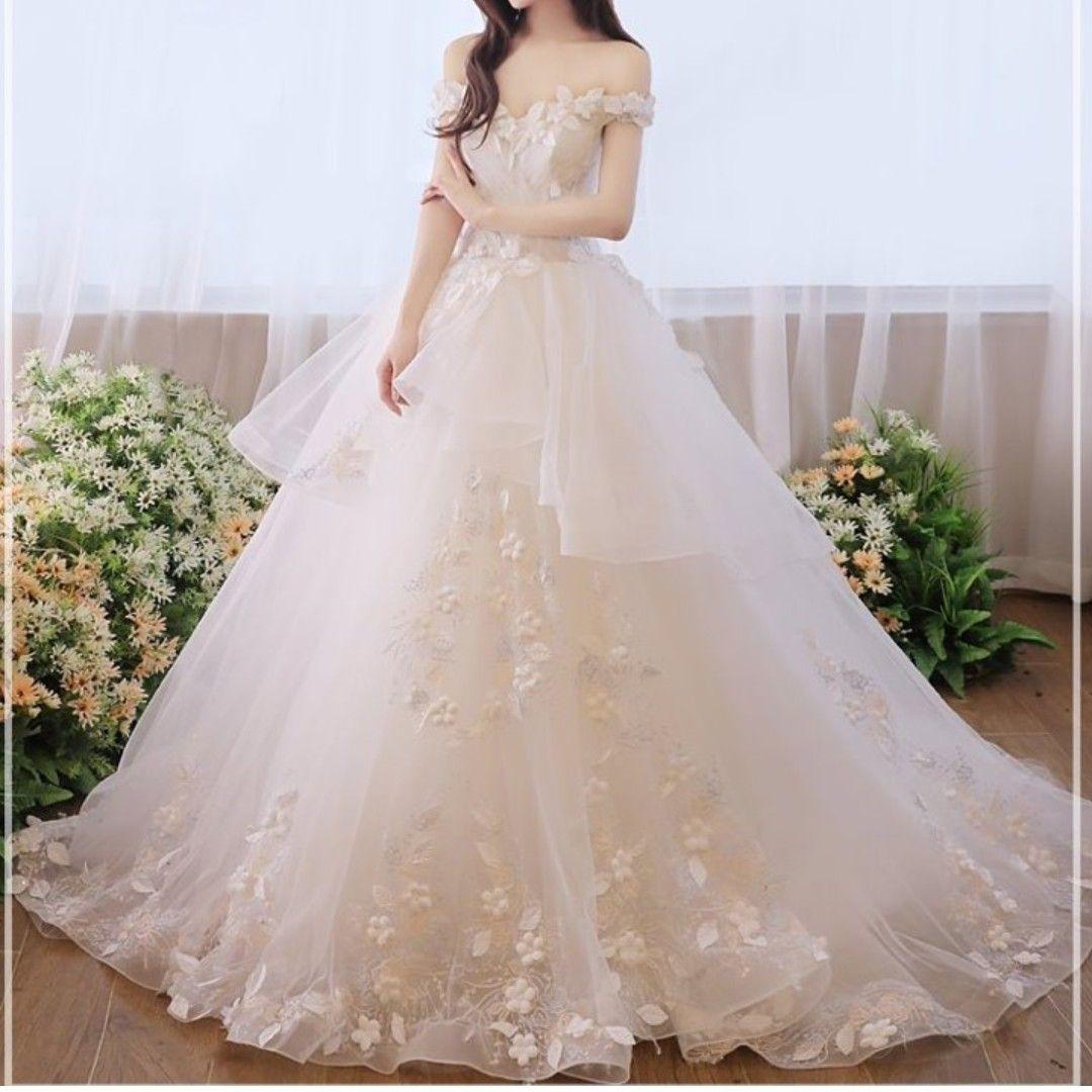 Off White Wedding Gown Sparkly Ladies Samantha Off White Wedding Gown L1780 Wom In 2020 White Wedding Gowns Wedding Gown Mermaid Style Cheap Beach Wedding Dresses