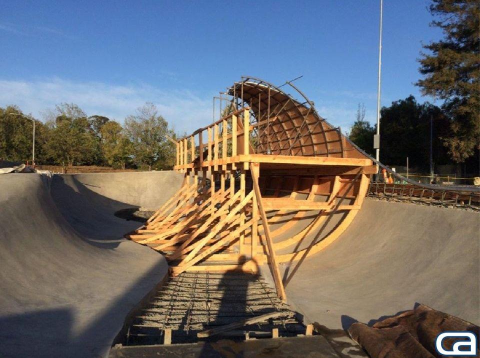 Our Amazing Construction Crew Has Been Working Hard On The San Luis Obispo Skate Park Skate Park Park California Skateparks