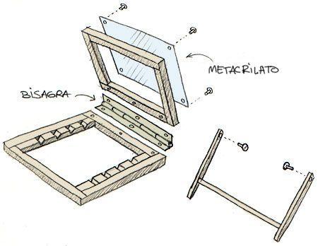 Mesa de dibujo port til jaime mart n mel pinterest - Mesas para dibujar ...