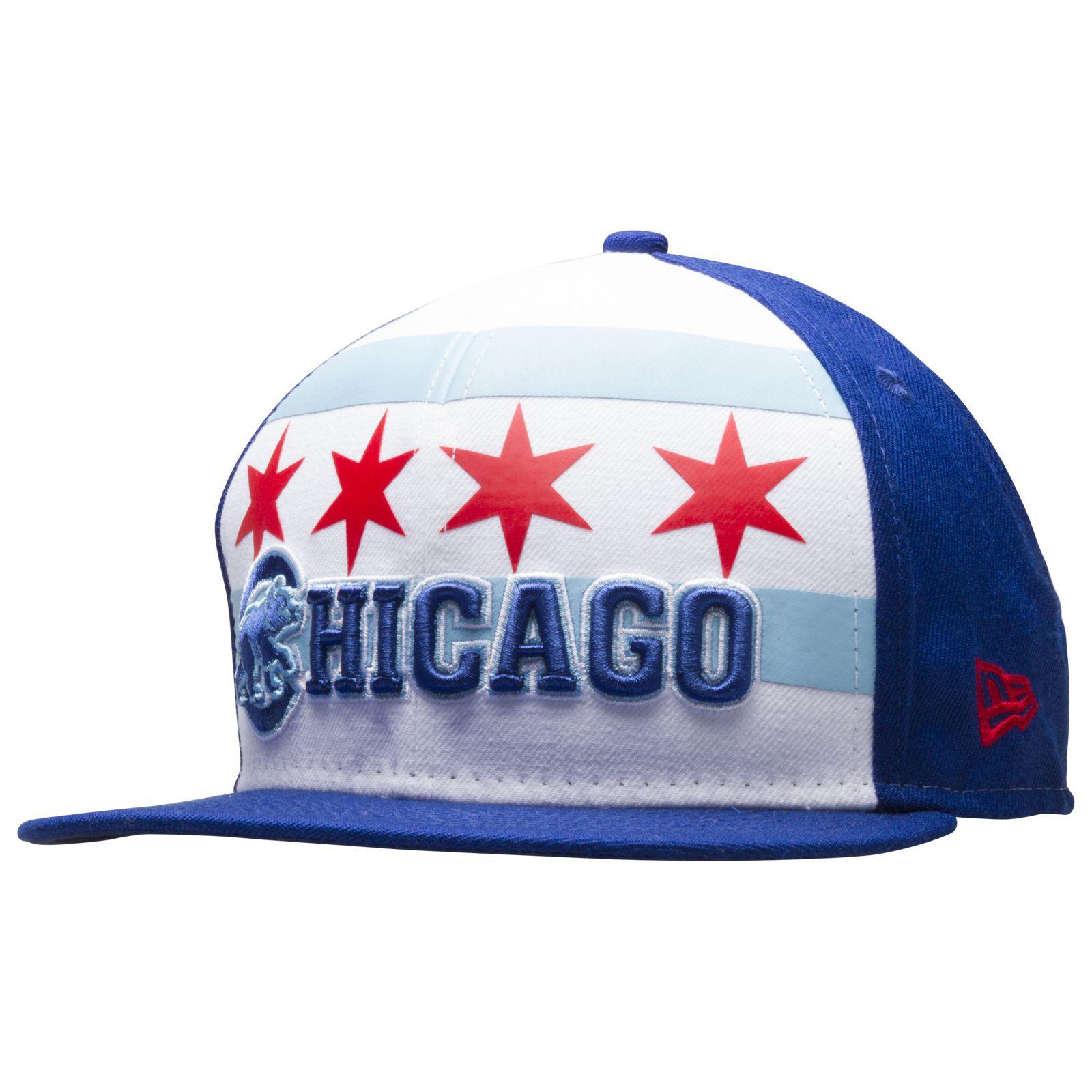 6b21af19a55 Chicago Cubs Chicago Flag Crawl Bear Snapback Hat by New Era  Chicago  Cubs   ChicagoCubs