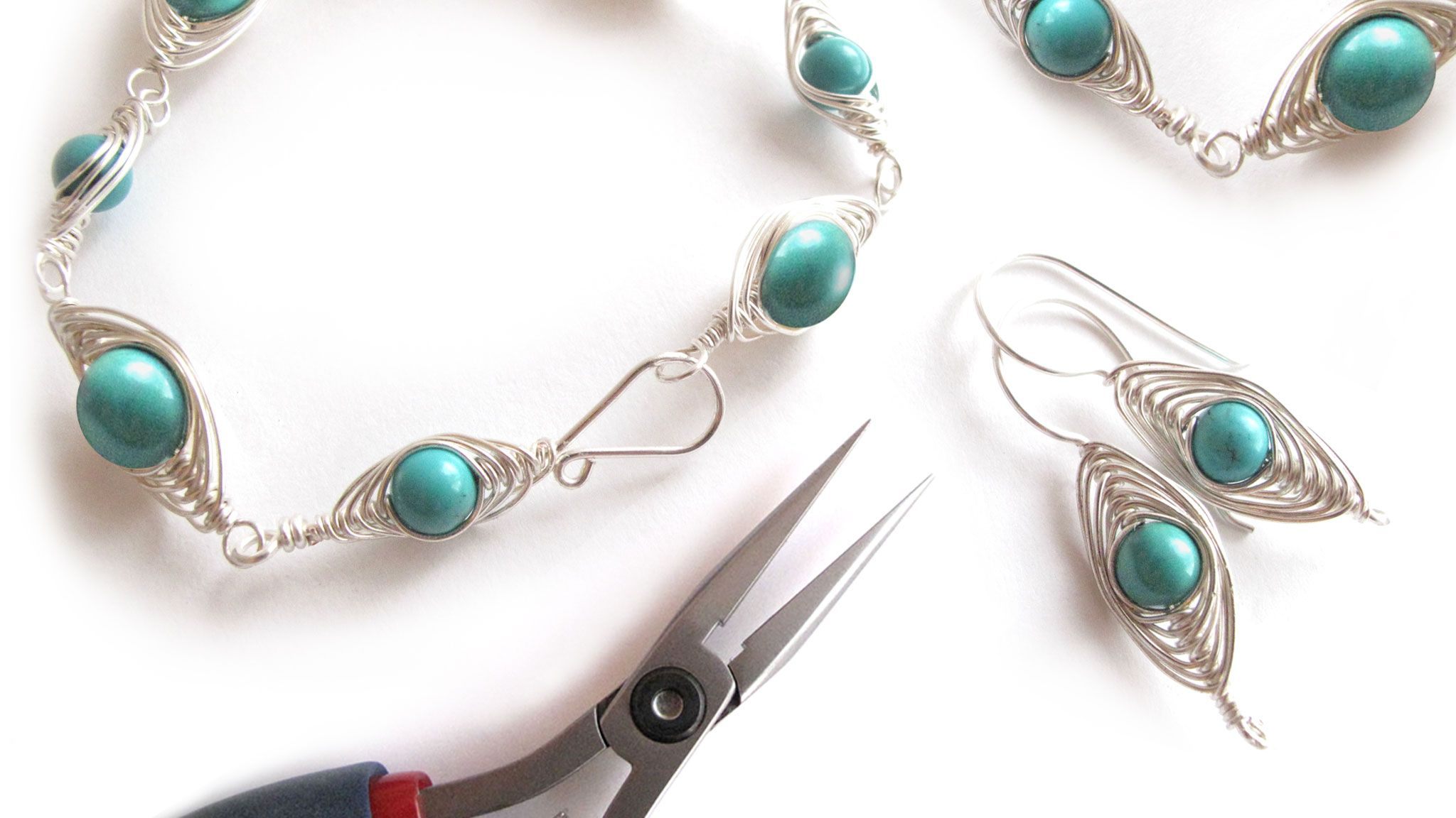 Wire Wrapping for Beginners + Herringbone Course Bundle | Pretty ...