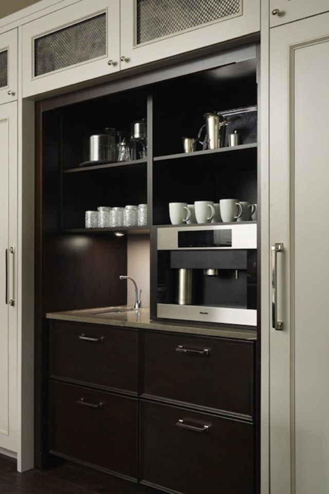 Butler Pantry With Coffee Bar Coffee Bar Home Coffee