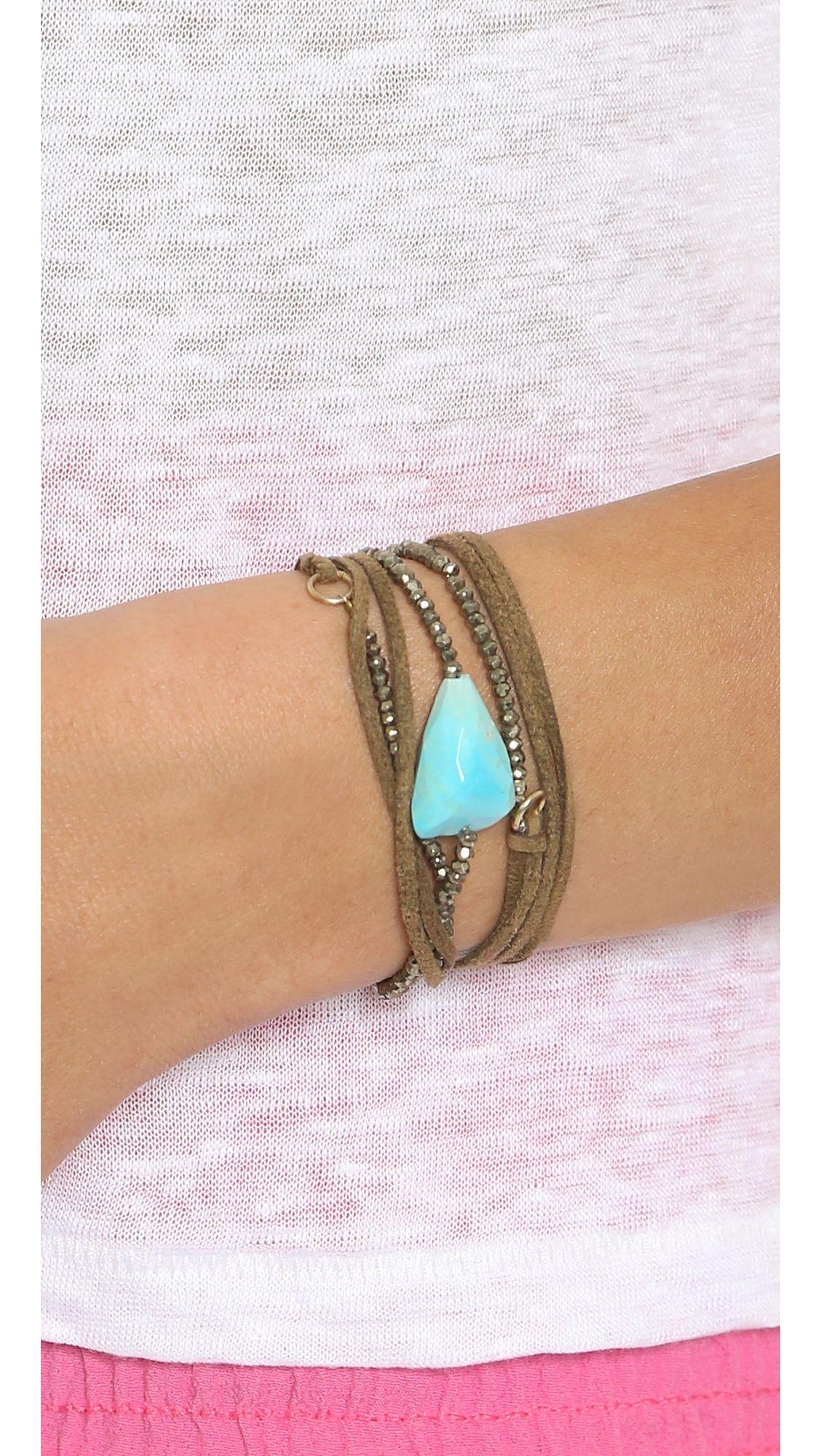 Pascale Monvoisin Fiona Wrap Bracelet