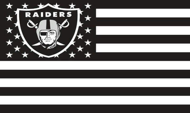 Pin By Ej Lizarrago On Raiders Baby Raiders Flag Raiders Oakland Raiders