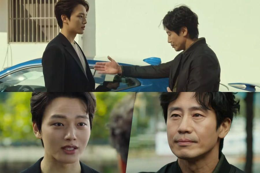 """Watch: Yeo Jin Goo And Shin Ha Kyun Start Off On The Wrong Foot In New """"Beyond Evil"""" Teaser"""