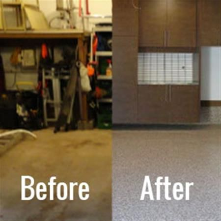 Garage Flooring Madison, Epoxy Garage Floors, Tile Garage Flooring   Tailored  Living