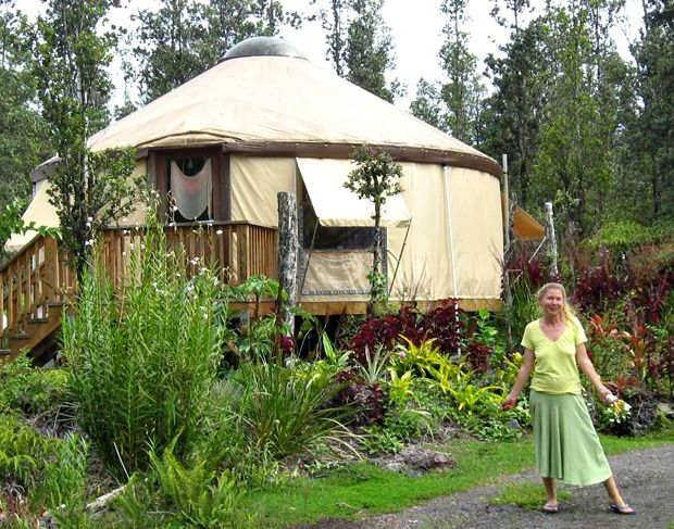 Yurt Living 2009 Hawaii Yurts Everywhere In 2019 Yurt