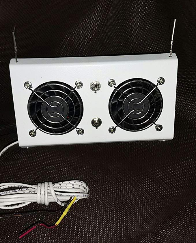 Rv Cooling Unit Warehouse Deluxe Rv Refrigerator Evaporator Fan W Led Grill Cooling Unit Thermostat Setting Cool Stuff