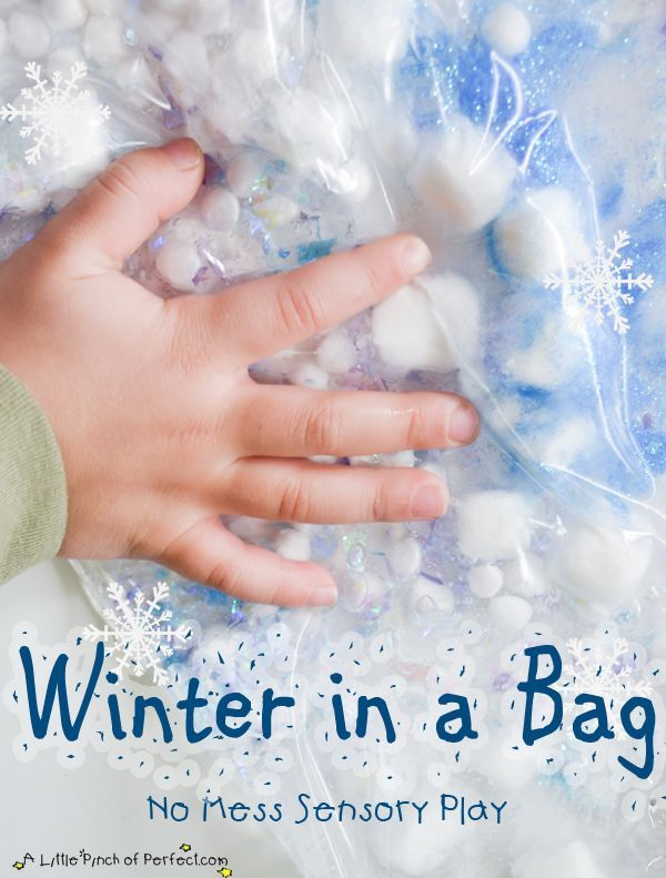 Winter Crafts And Activities For Kids Sensory Fun