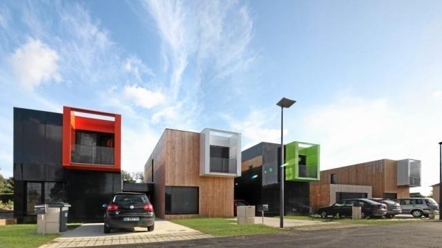 La maison-conteneurs version B3 Ecodesign de Rennes ? Moderne et ...