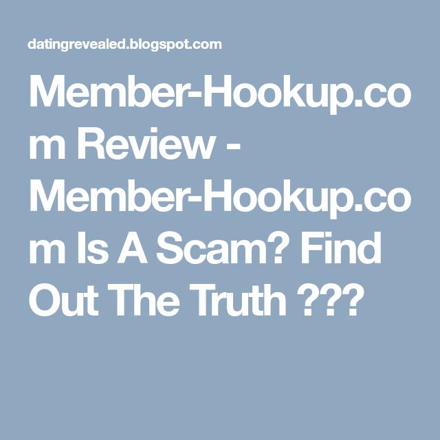 Member hookup com
