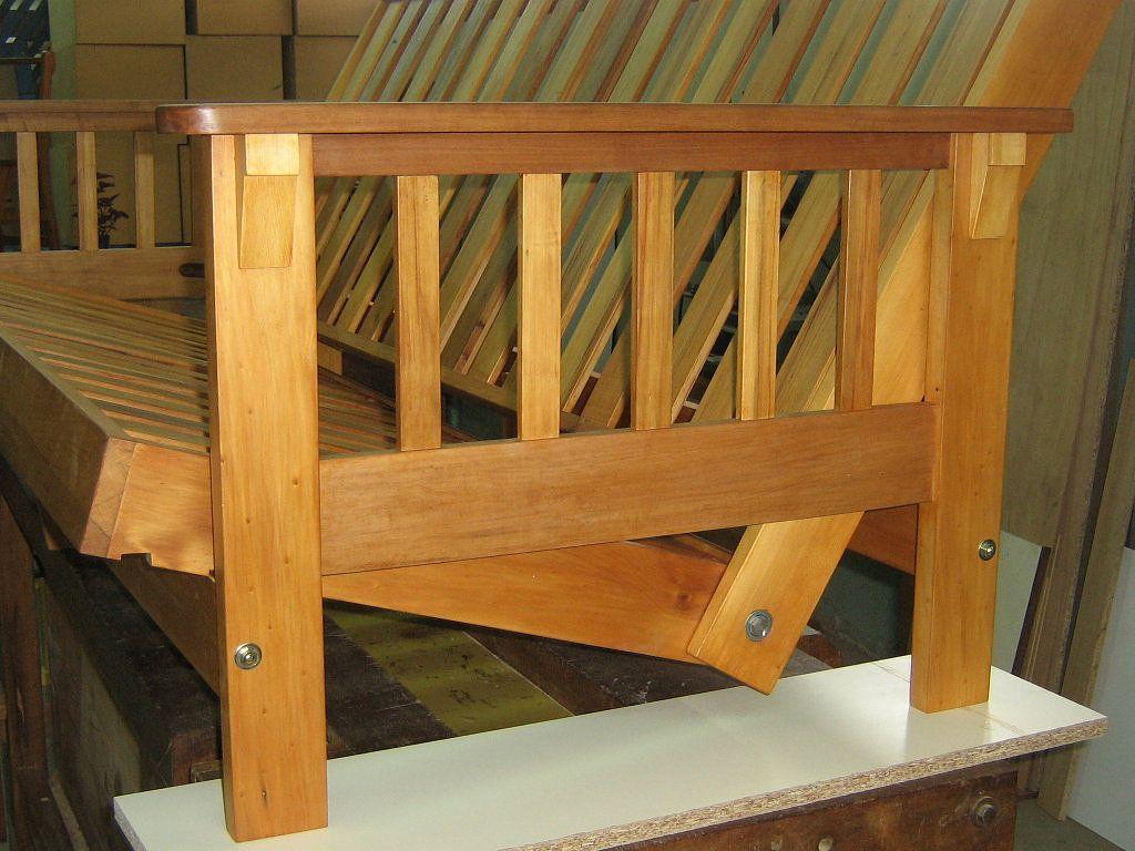 Como construir un futon paso a paso lofts industrial for Sillones que se hacen cama