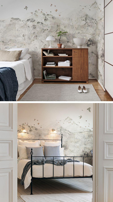Paper Mountains Tapete Wohnzimmer Schlafzimmer Tapete Moderne