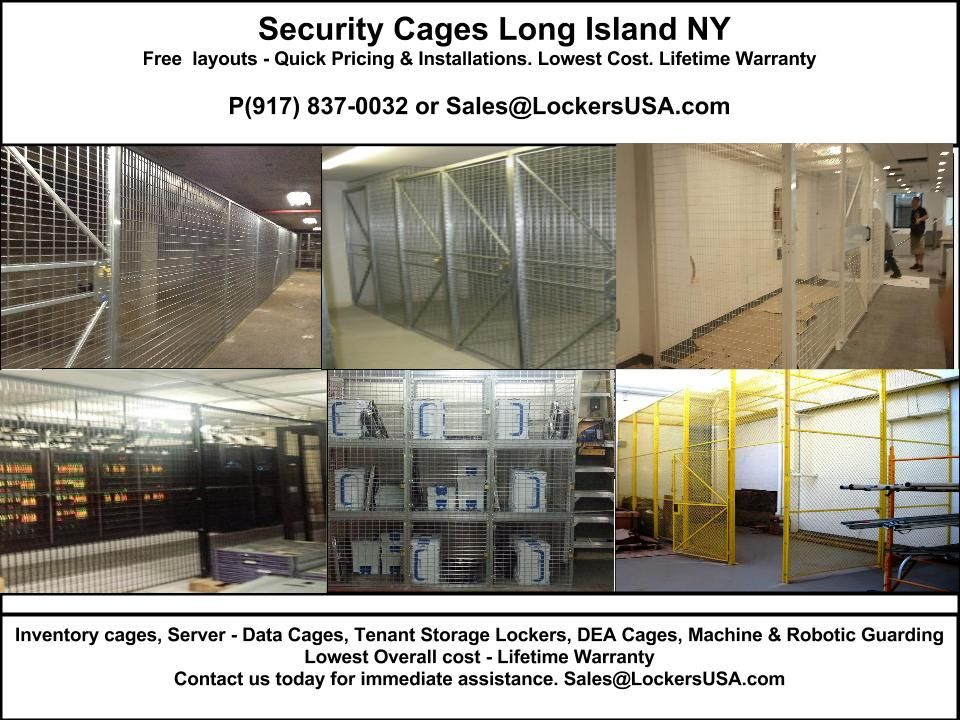 Security Cages Hauppauge. Welded wire security cages delivered to ...