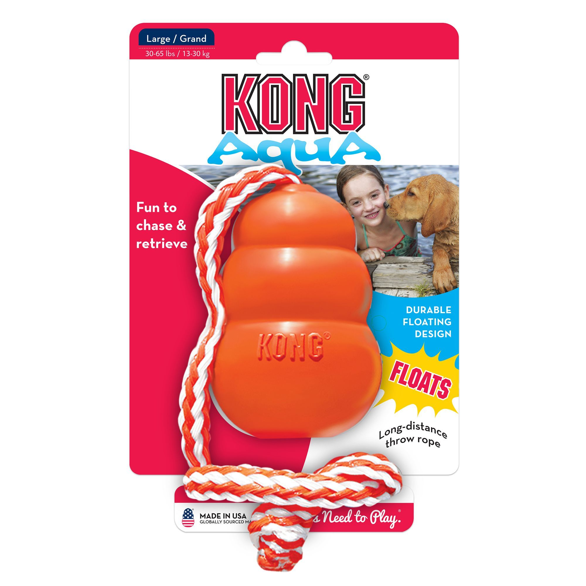 Kong Aqua Dog Toy Size Large Blue Kong Dog Toys Dog Toys