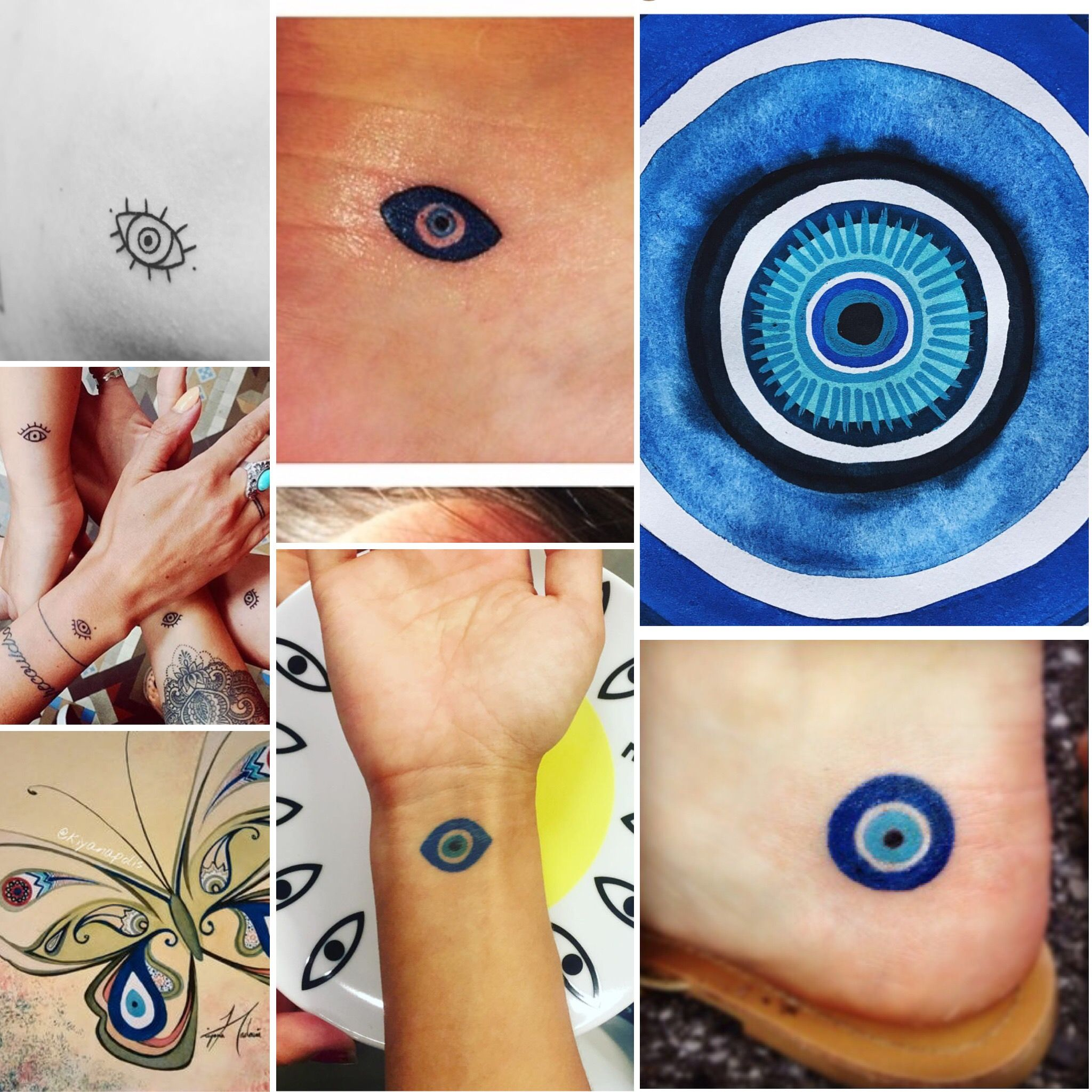 Evil eye tattoo (symbol / icon) | Tattoos | Pinterest ...