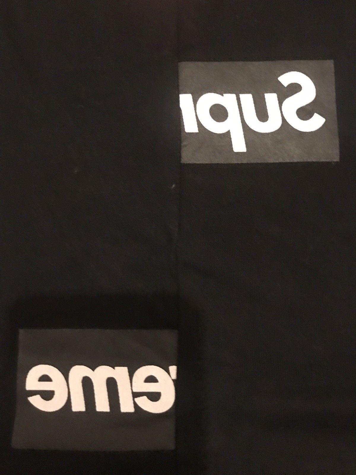 0e724852a436 Details about supreme cdg split box logo tee | Supreme, BAPE ...