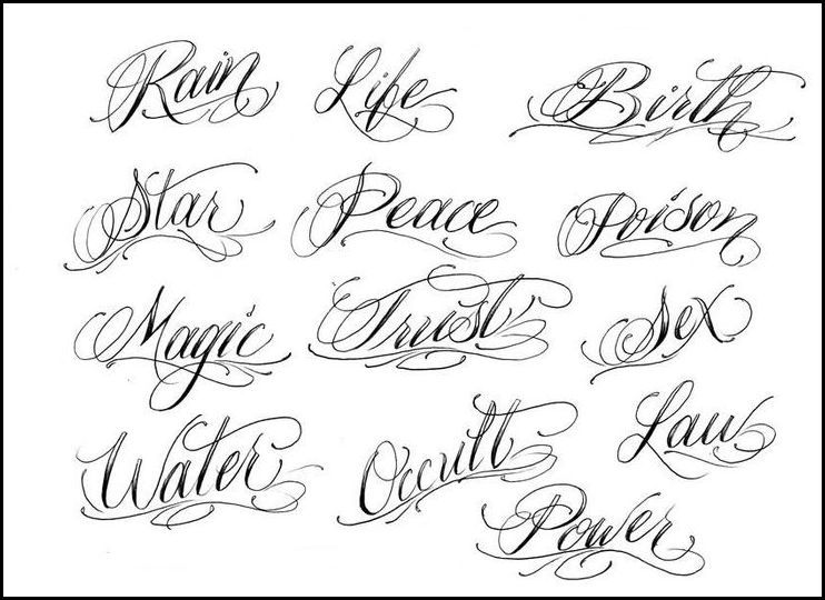 Design Your Own Tattoo Lettering through a Safety WaysTattoo Themes ...