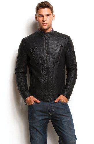 fc1a3a78 Armani Exchange Faux Leather Moto Jacket A|X Armani Exchange ...