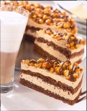 Schokoladen-Karamell-Torte Rezept | LECKER
