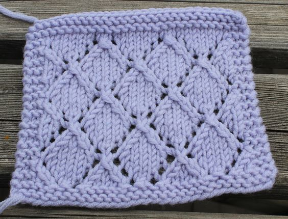 kal boucle d 39 or version b b carr 13 tricot tricot point de tricot et tricot et crochet. Black Bedroom Furniture Sets. Home Design Ideas