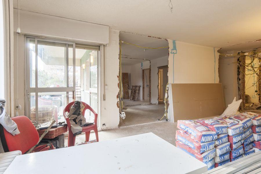 El antes y después de una vivienda de 63 metros #salón #hogarhabitissimo
