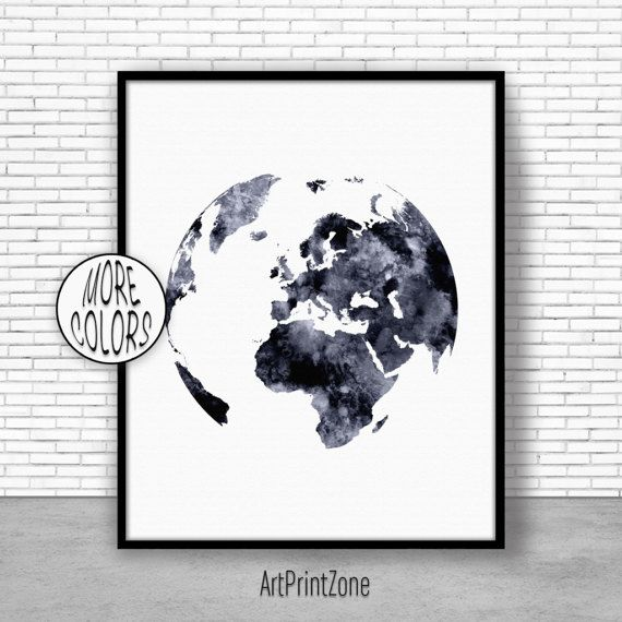 Globe art globe print globe decor world print europe map world 800 globe art globe print globe decor world print europe map world map poster world map wall art world map print world map decor worldmapwallart gumiabroncs Gallery