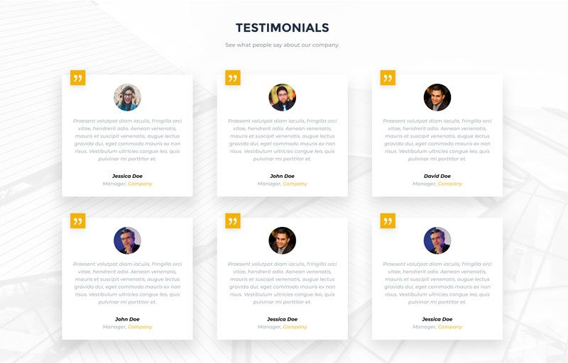 15 Testimonial Page Examples You Ll Want To Copy In 2020 In 2020 Testimonials Design Testimonials Web Design Customer Testimonial Design