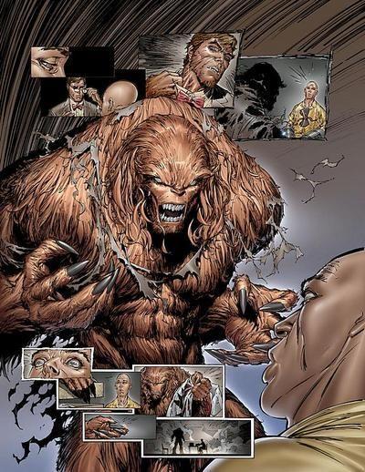 Sasquatch (Dr. Walter Langkowski Ph.D.) (Human/Mutate ...Bigfoot Comic