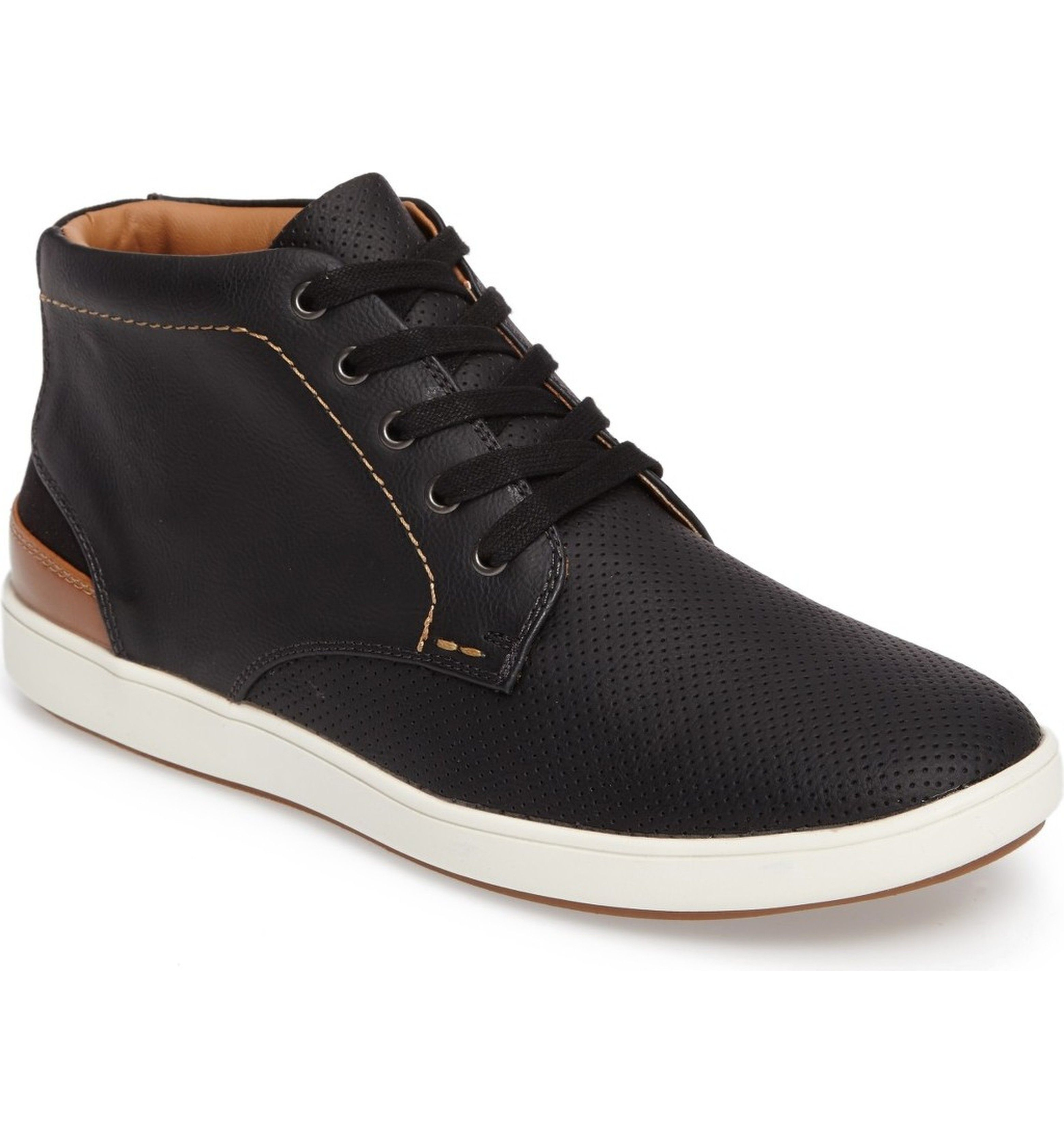 Steve Madden Fractal Chukka Sneaker - MEN - BLACK