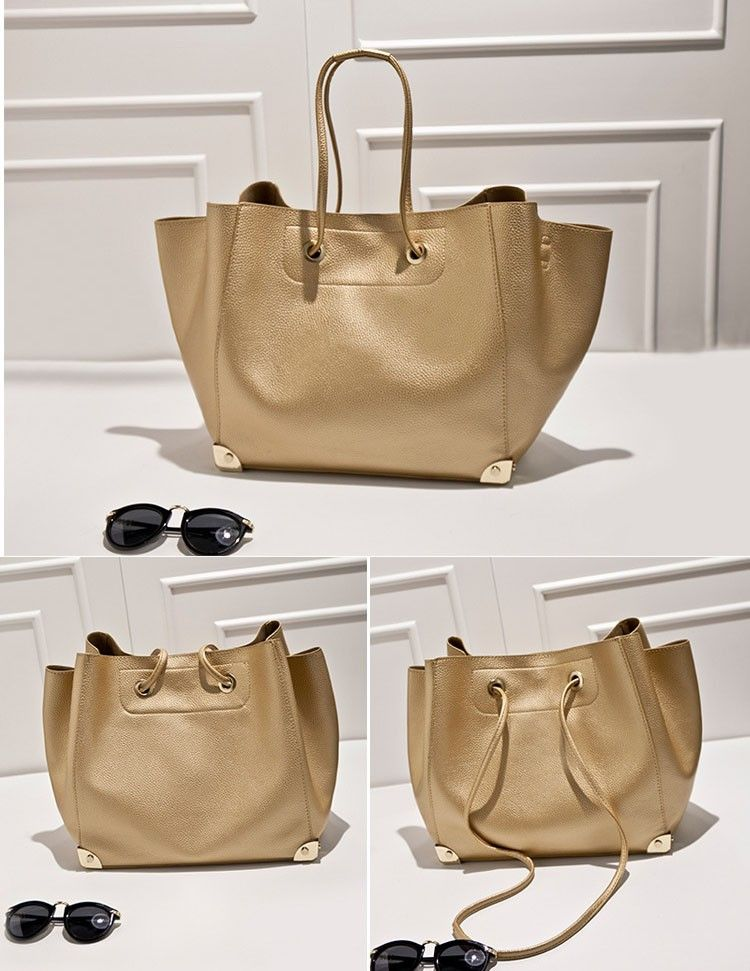Gold Las Handbag Factory China Shoulder Bags For Woman Manufacturer Fashion Women Large Tote Bag Supplier Famous Brands