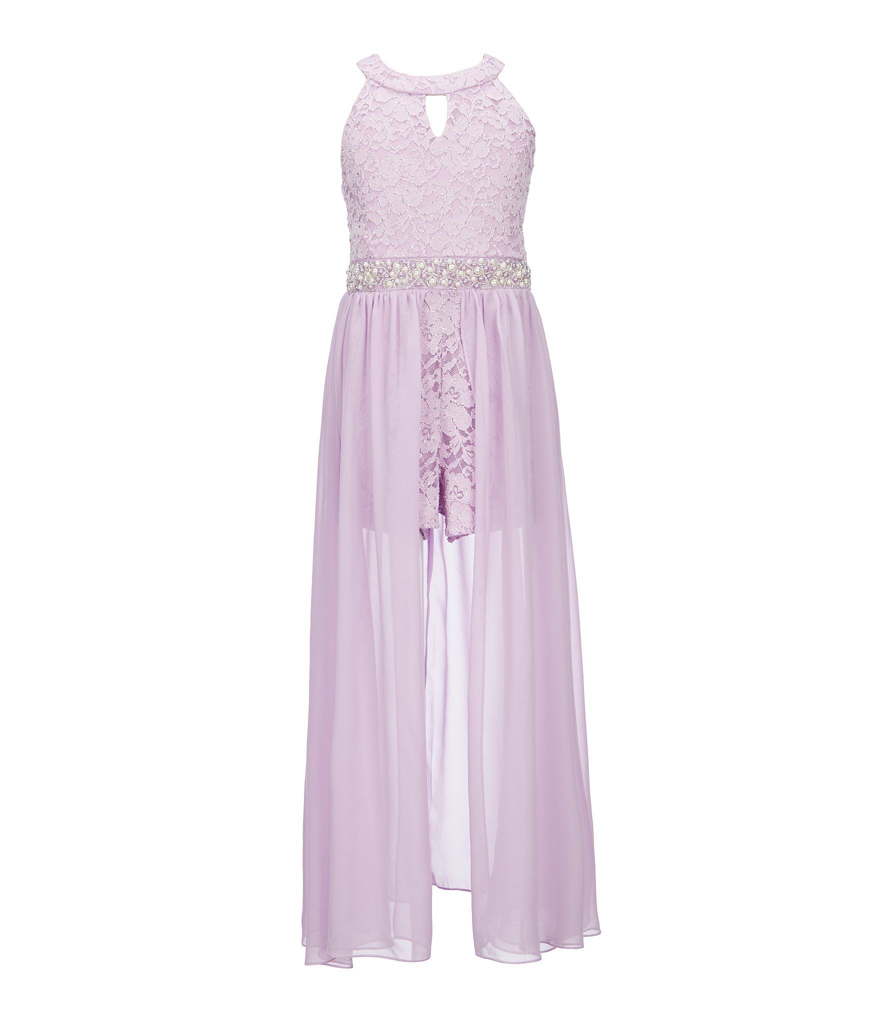 92c2a1b0f775 Shop for Xtraordinary Big Girls 7-16 Lace Chiffon Maxi Romper at Dillards. com. Visit Dillards.com to find clothing