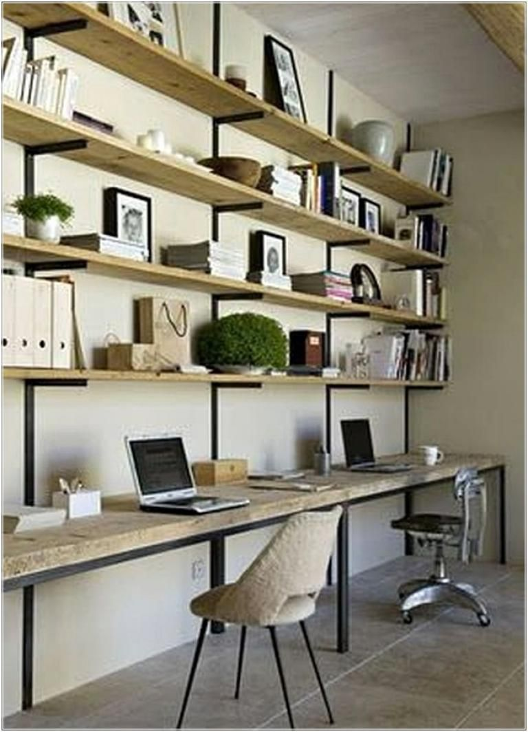 Home-office-design-ideen awesome home office design ideas with rustic style  amenajarea