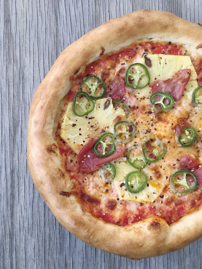 Sweet Salty Spicy All In One Pizza All We Can Say About