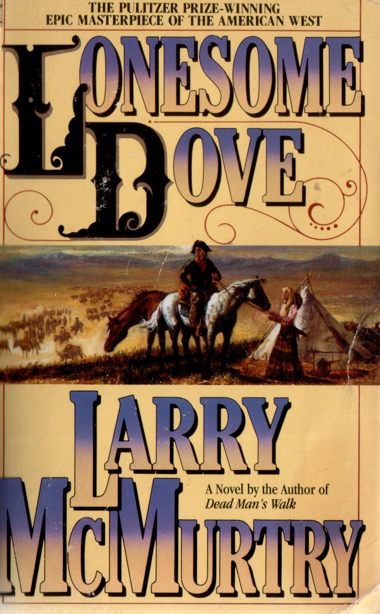 mcmurtry lonesome  Lonesome Dove by Larry McMurtry. | Books Made Into Movies | Lonesome ...