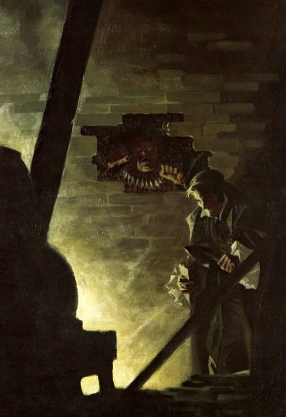 The Cask of Amontillado Art by Bernie Wrightson The Art of