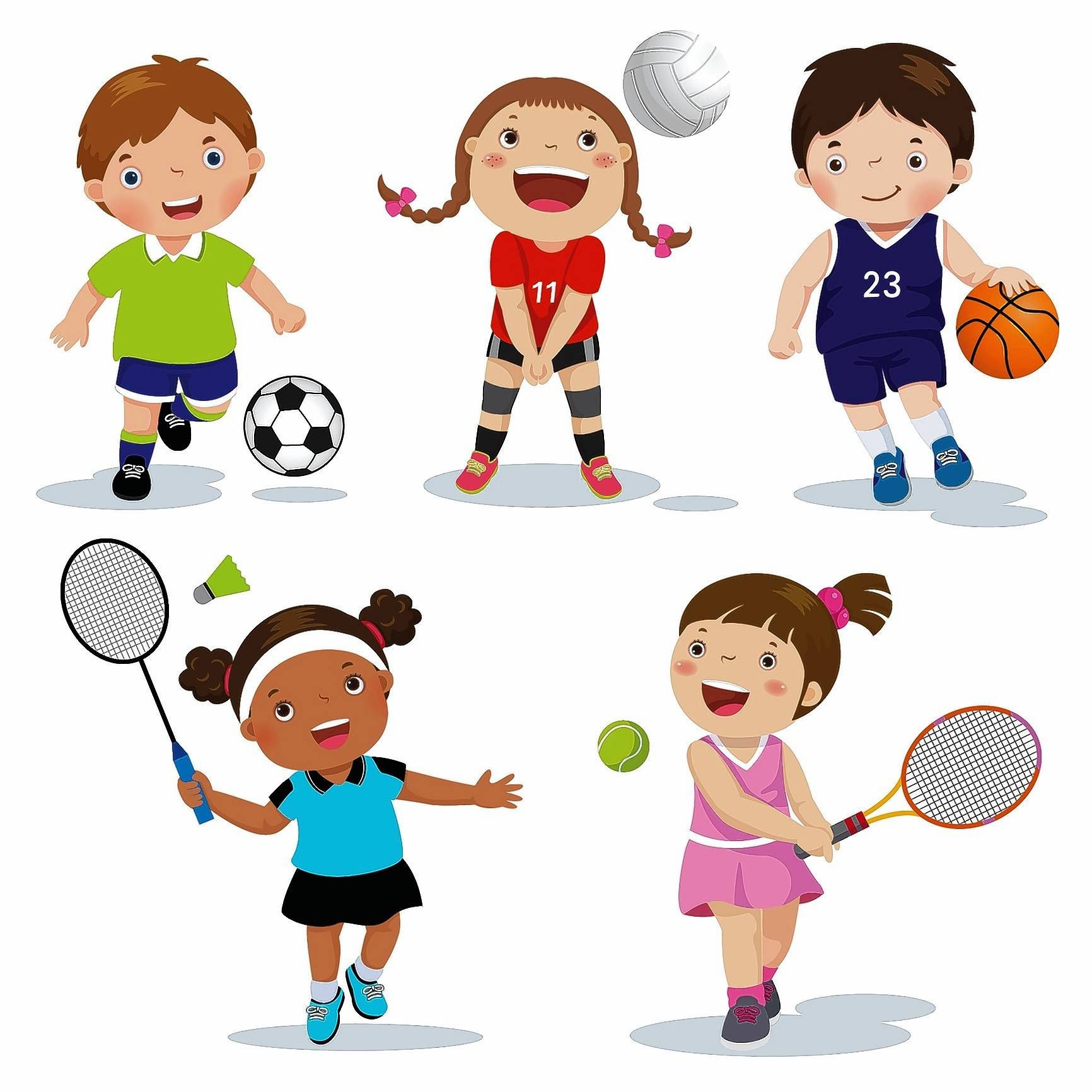 Your health: How to help your kids pick a sport | Kids sports, Kid picks,  Art for kids