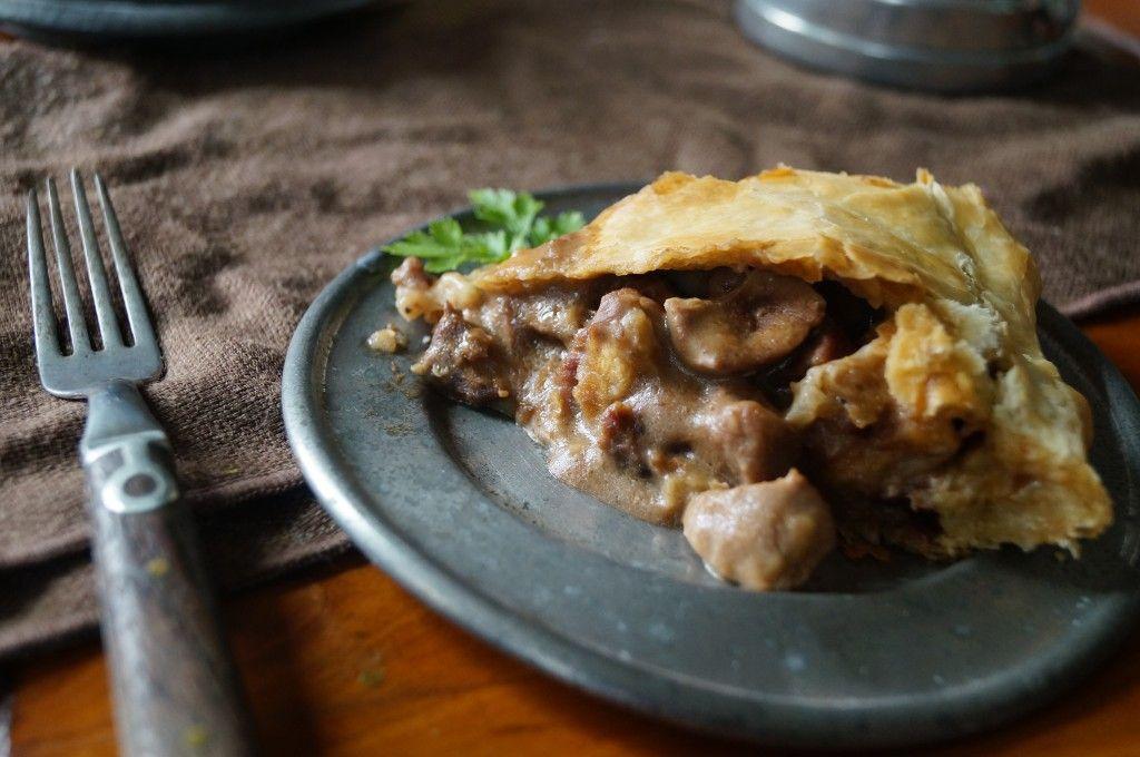 Steak and Kidney Pie   Steak and kidney pie, Food, Recipes