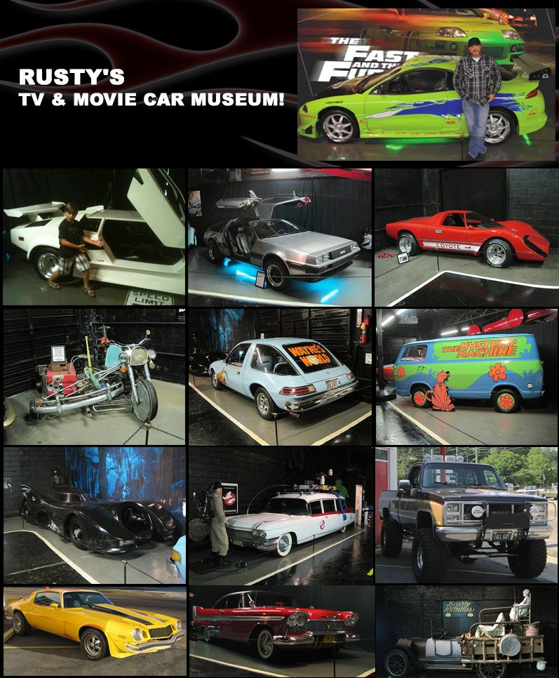 Jackson Tn Welcome To Rusty S Tv And Movie Car Museum Phone