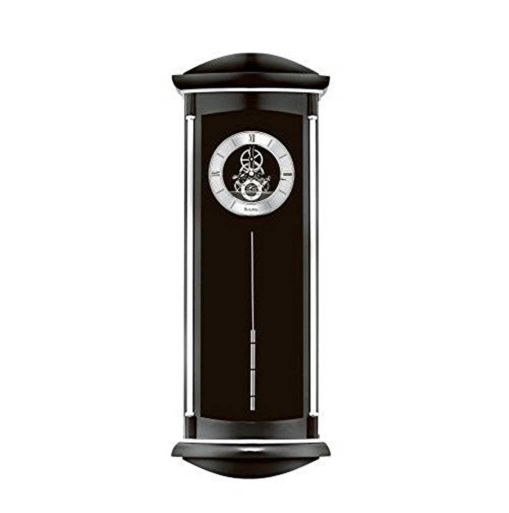 Skeleton wall clock pendulum bulovablackwoodenwallclockspendulumjpg 10161024 amipublicfo Images