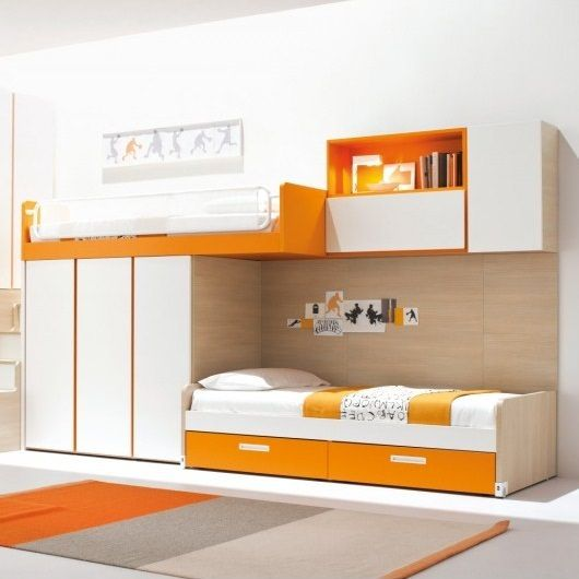Best 10 Colorful Modern Loft Bed Designs By Clever Modern 640 x 480