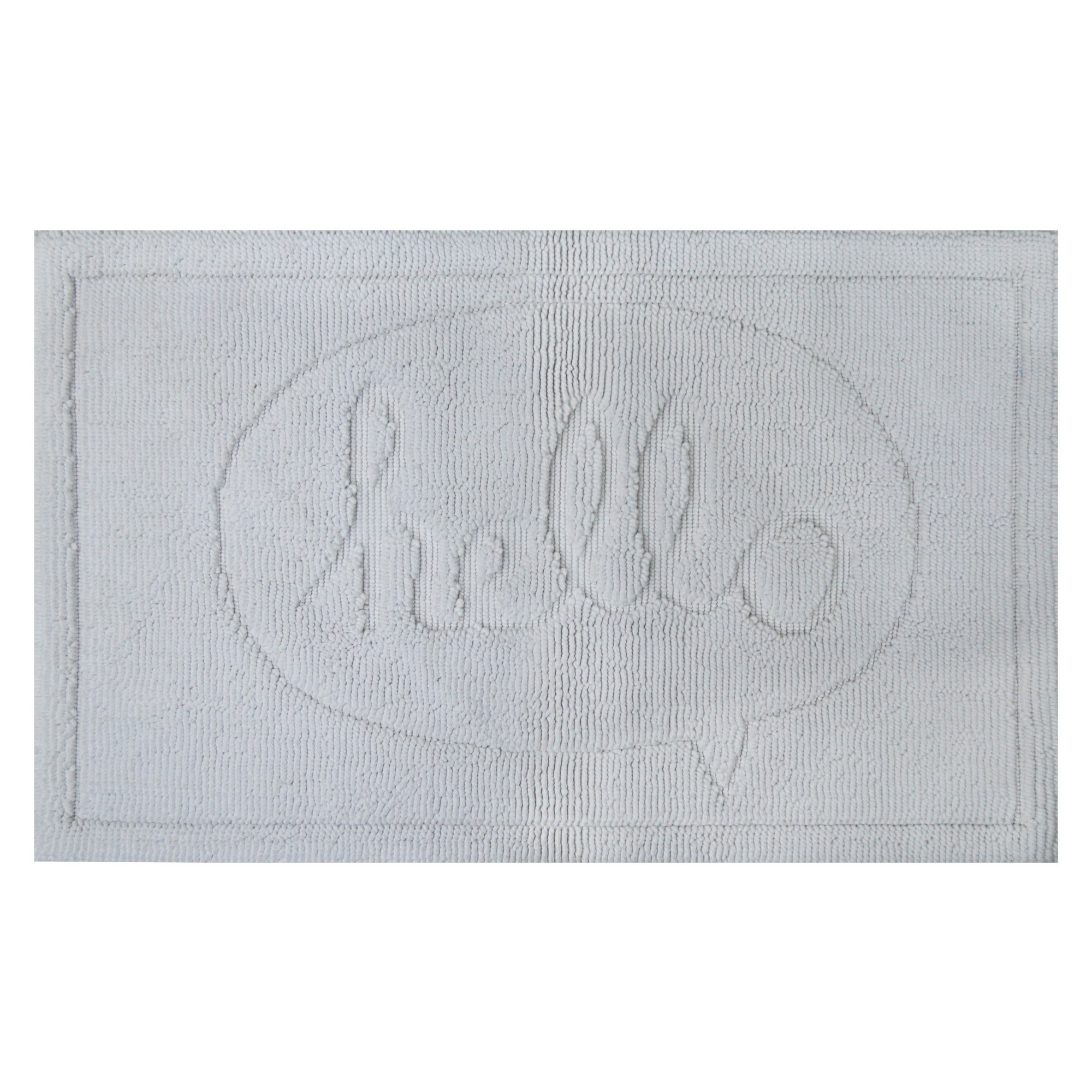 Pillowfort Hello Tonal Bath Rug White Bath Rugs And Products